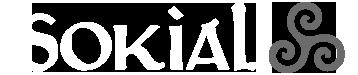 Sokial - Le réseau social Breton pour les Breton·ne·s et ami·e·s de la Bretagne ! Logo