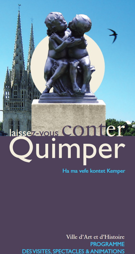 Quimper in Love Quimper - 12-02-2017  15h00 -  (Circuit / Visite)