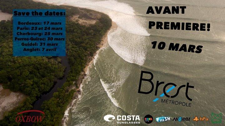 Lost In The Swell 3.2: avant premiere mondial de l'univers connu/inconnu Brest - 10-03-2017  20h30 -  23h59 (Cinéma / Court-métrage, Sports nautiques)