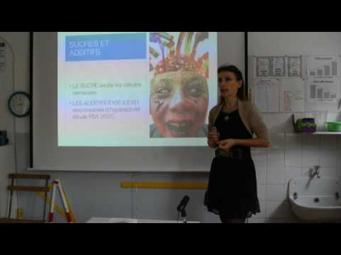 Conférence de Frédérique Chataigner à l'école Montessori - YouTube
