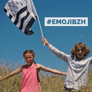 ⚐⚑✊ - Un emoji drapeau breton pour la Bretagne #emojibzh