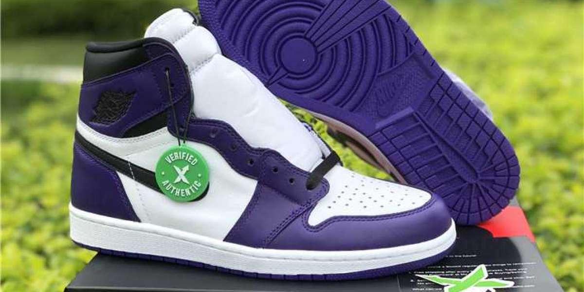 "Cheap Air Jordan 1 Retro High OG ""Court Purple"" To Release On April 11th"