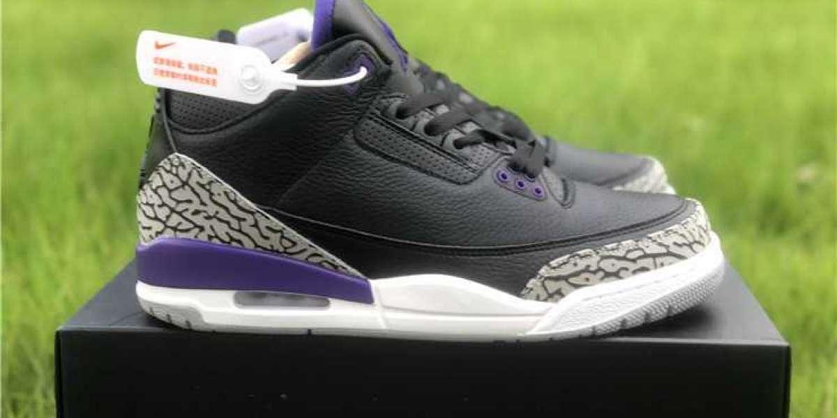 Buy the 2020 Air Jordan 3 Court Purple CT8532-050