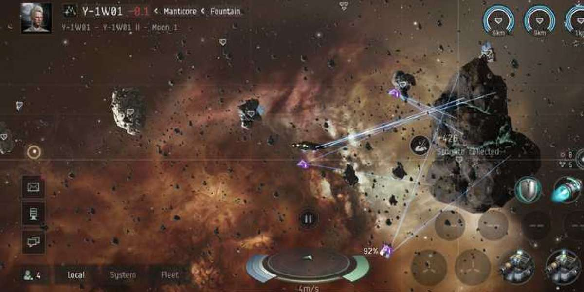 Win the battle at Eve Online