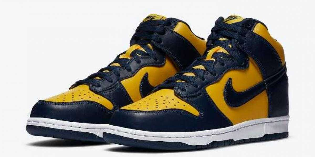 Nike Dunk High SP Michigan to Release on September 26, 2020