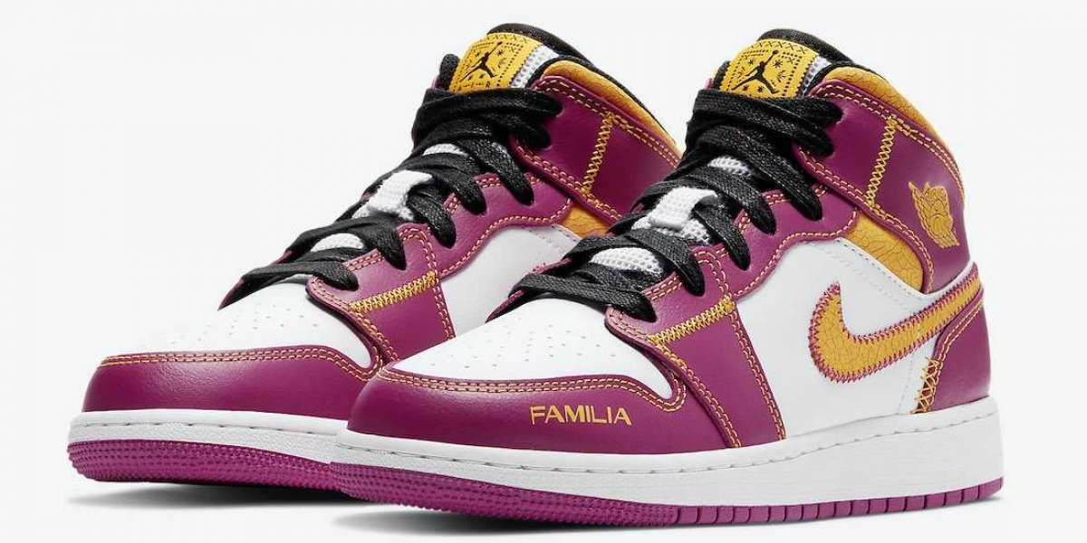 "Will You Cop Air Jordan 1 Mid ""para mi familia"" DC1426-100 Sneakers?"