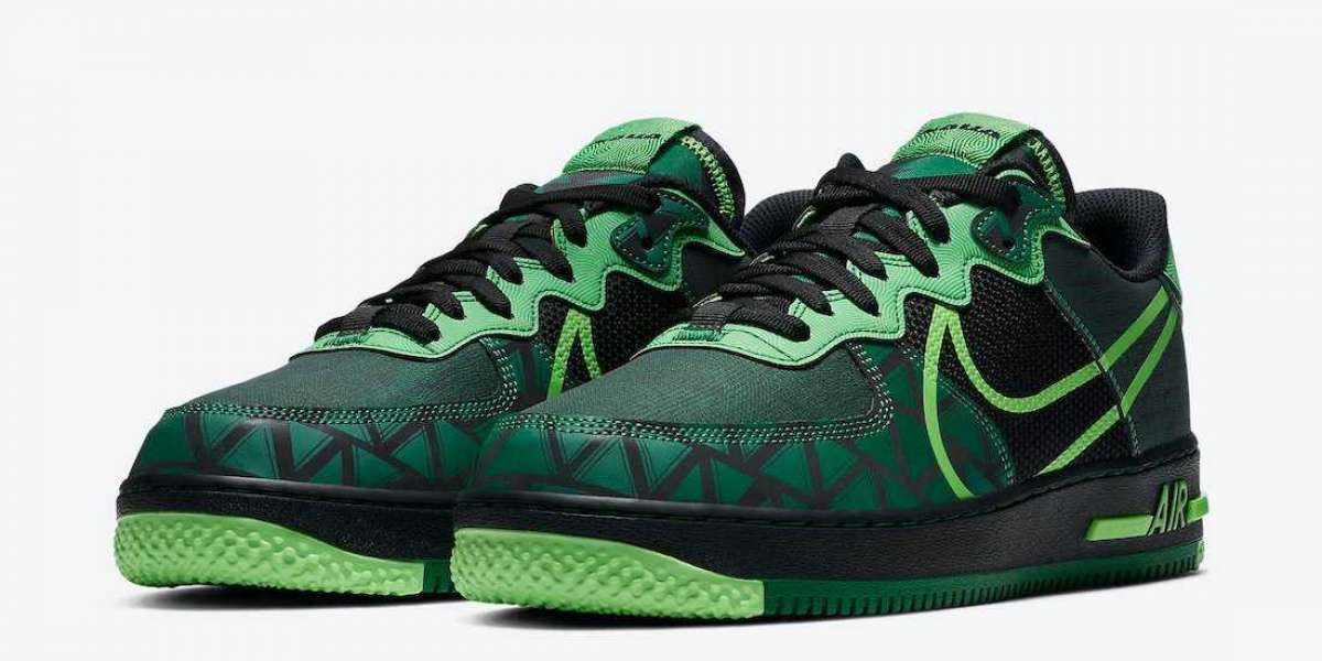 """New Sale Nike Air Force 1 React """"Naija"""" CW3918-001 release to  October 1st 2020"""