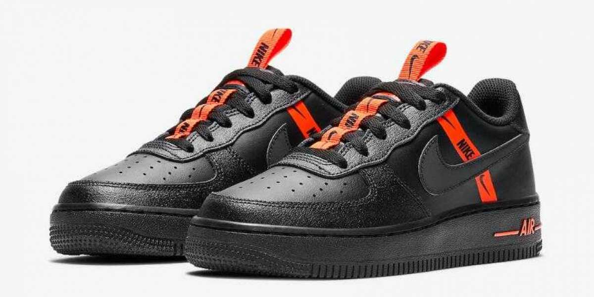 2020 Nike Air Force 1 Low Black Halloween Vibes Coming Soon