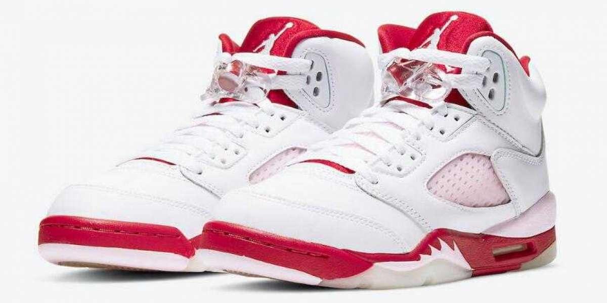 Ladies Air Jordan 5 GS Pink Foam to Release on October 9, 2020