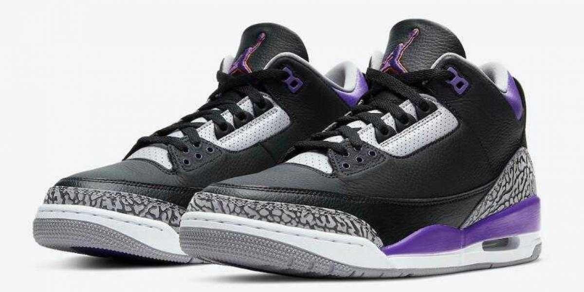 Air Jordan 3 Court Purple to Release on November 21, 2020