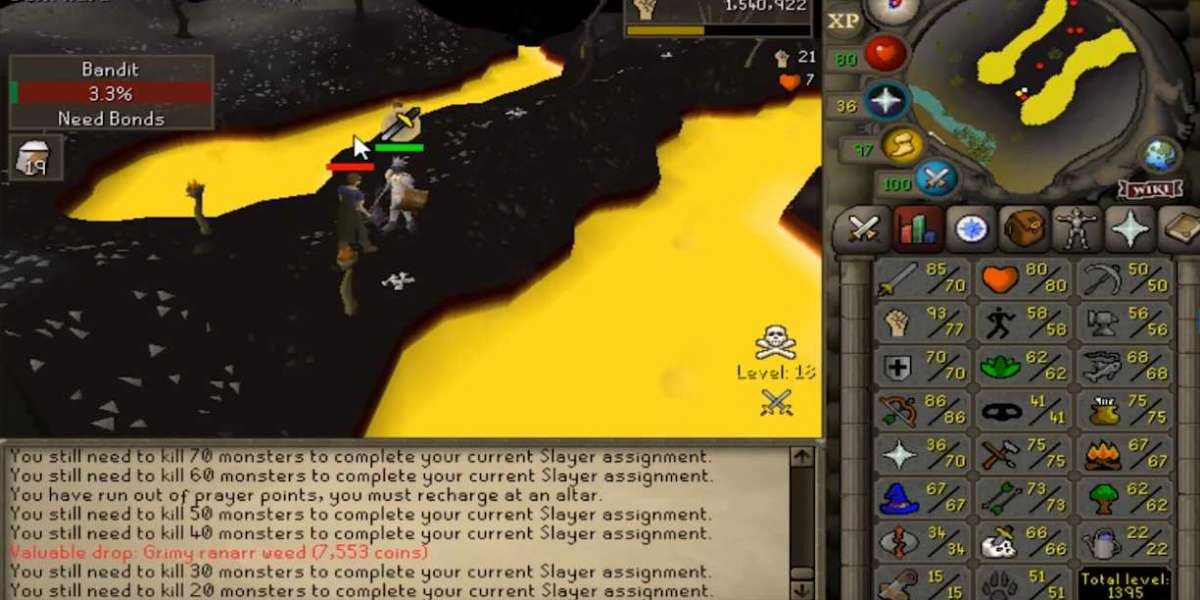 No more will people assert RuneScape is just a Lot of clicking